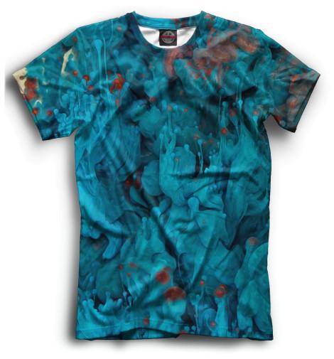 Мужская футболка Лава