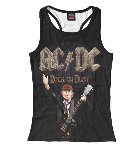 Майка борцовка Print Bar AC/DC Rock or Bust cd ac dc for those about to rock we salute you remastered