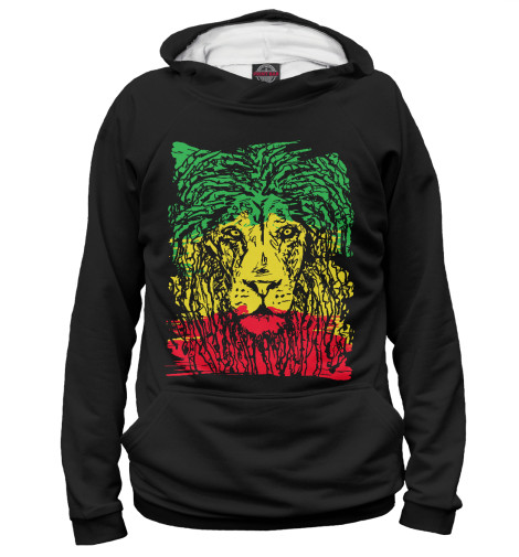 Худи Print Bar Rasta Lion худи print bar skull lion