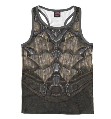 Майка борцовка Print Bar Skyrim: Dragonscale Armor купить skyrim hearthfire русская озвучка
