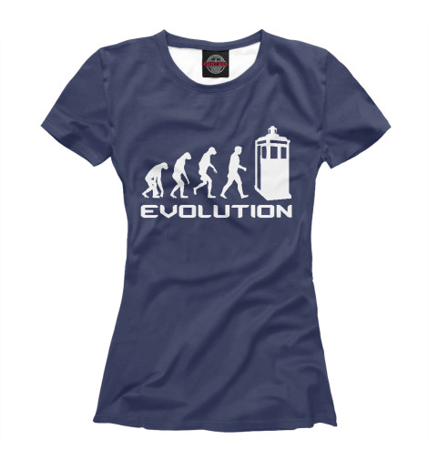 Футболка Print Bar Doctor Who Evolution футболка print bar doctor who