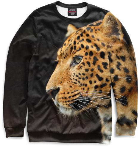 Мужской свитшот Леопард
