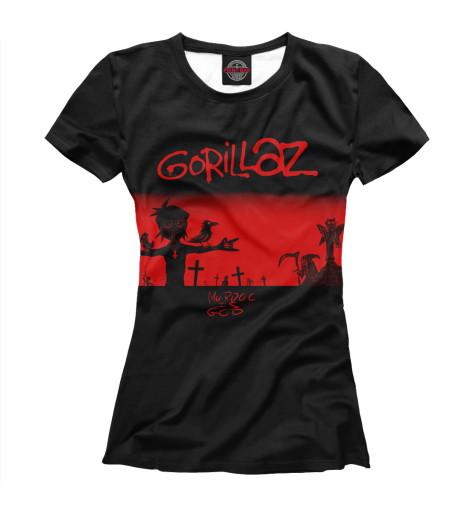 Купить Футболка для девочек Gorillaz GLZ-446229-fut-1