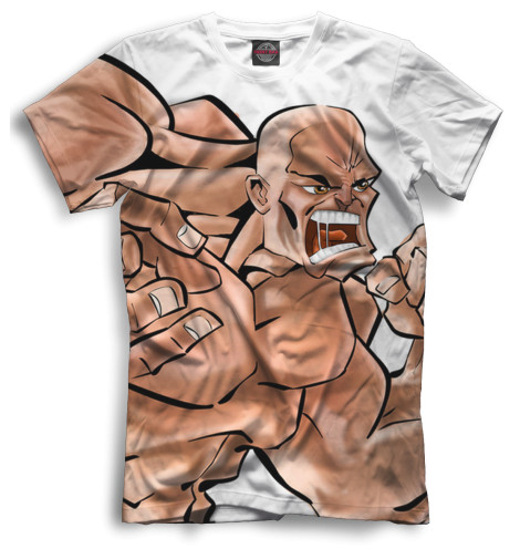 Мужская футболка Здоровяк