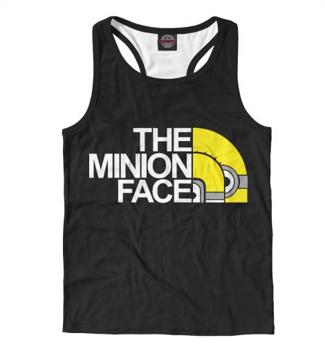 Майка борцовка Print Bar The Minion Face майка борцовка print bar minion mummy
