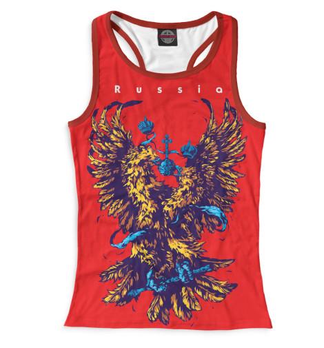 Купить Женская майка-борцовка Двуглавый орел SRF-389282-mayb-1