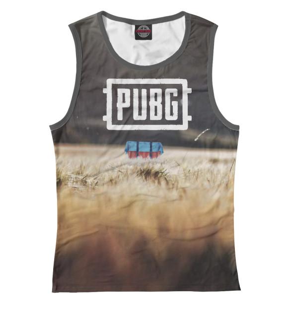Купить Женская майка PUBG PBG-812881-may-1