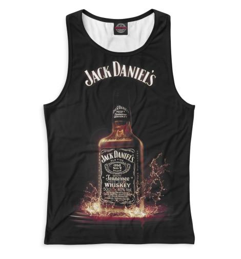 Женская майка-борцовка Jack Daniels