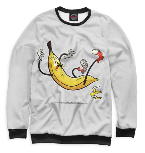 Мужской свитшот Банан