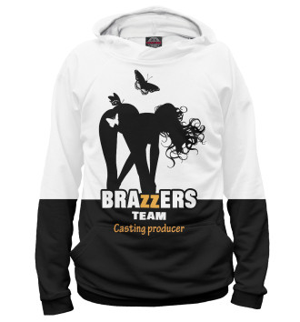 Мужское Худи Brazzers team Casting-producer