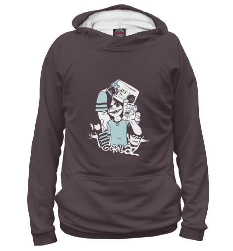 Купить Женское худи Gorillaz GLZ-207422-hud-1