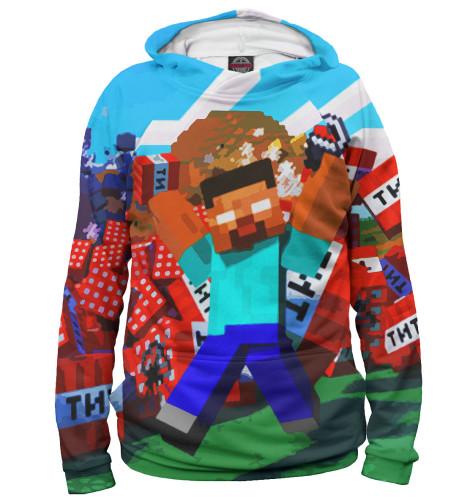 Мужское худи Minecraft MCR-695131-hud-2  - купить со скидкой
