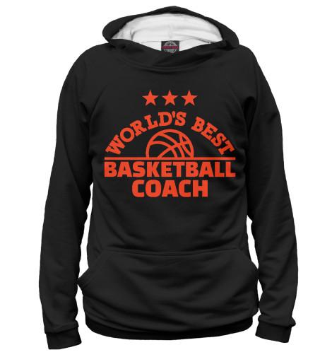 Худи Print Bar Лучший баскетбольный тренер elsi el026awicq36 elsi