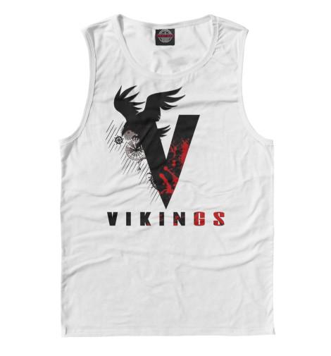Майка Print Bar Vikings vikings bk