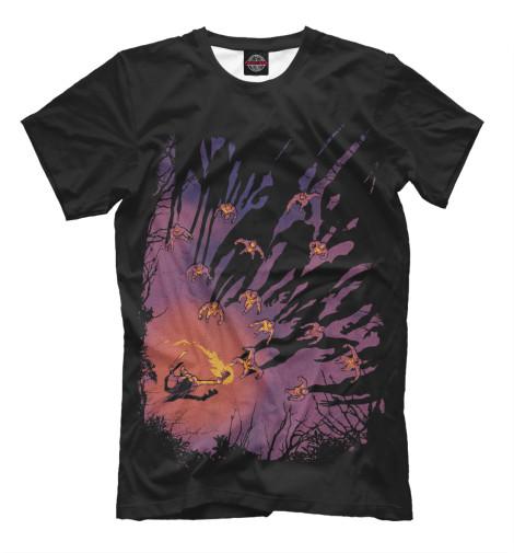 Купить Мужская футболка Ходячие мертвецы HOD-456691-fut-2