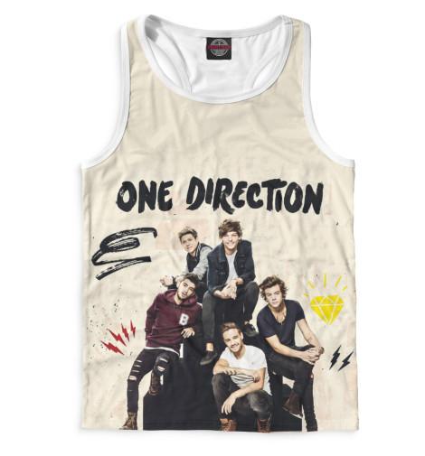Майка борцовка Print Bar One Direction худи print bar one direction