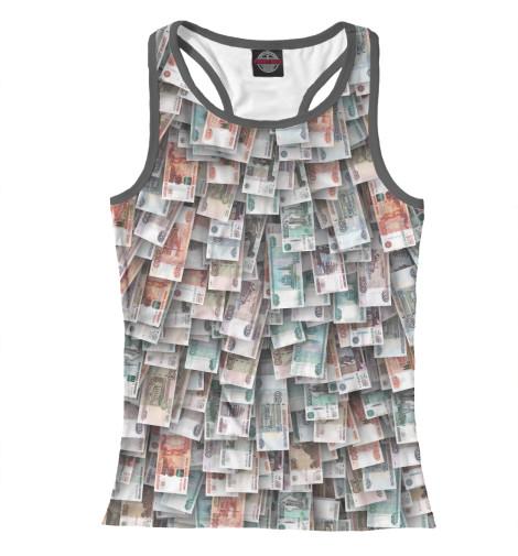 Майка борцовка Print Bar Российские деньги