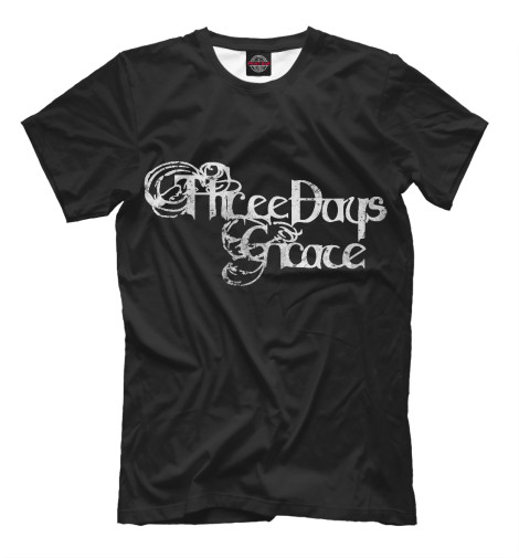 Футболка Print Bar Three Days Grace подсвечник 1064062