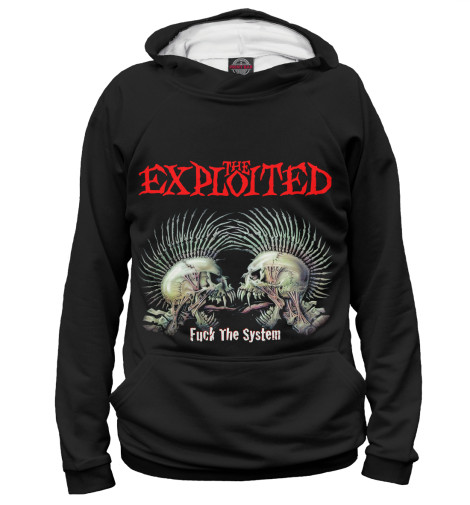 Худи Print Bar The Exploited the exploited the exploited apocalypse tour 1981 limited edition lp