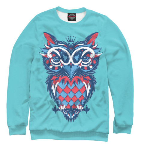 Свитшот Print Bar Owl Art футболка print bar dark owl
