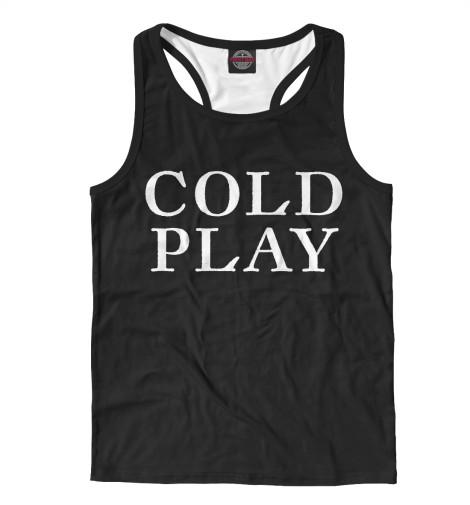 Майка борцовка Print Bar Coldplay coldplay coldplay ghost stories live 2014 cd dvd