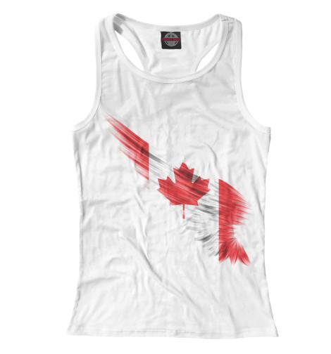 Майка борцовка Print Bar Свободная Канада восточная канада
