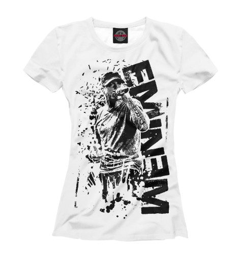 Футболка Print Bar Eminem eminem all access europe