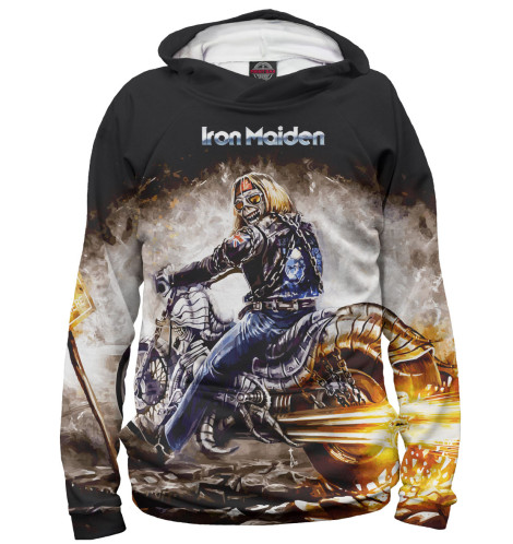 Худи Print Bar Iron Maiden худи print bar сид уилсон
