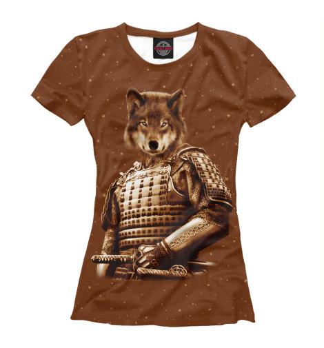 Футболка Print Bar Волк самурай футболка print bar волк