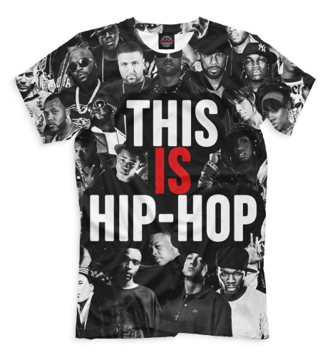 Купить Мужская футболка This is Hip-Hop RLG-276105-fut-2