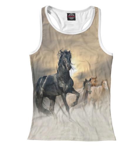 Майка борцовка Print Bar Лошади майка борцовка print bar лошади