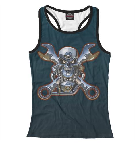 Майка борцовка Print Bar Metal Skull майка борцовка print bar metal mulisha