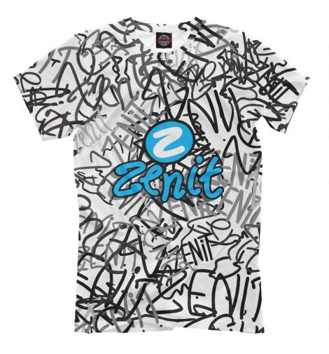 Футболка Print Bar ZENIT graffiti свитшот print bar zenit