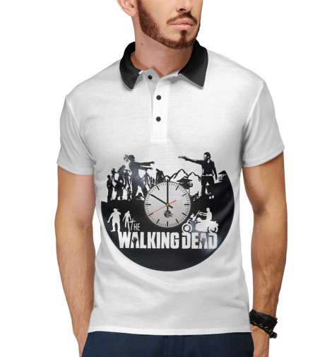 Поло Print Bar Walking dead худи print bar the walking dead