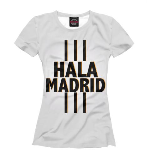 Футболка Print Bar Hala Madrid tryp madrid centro ex tryp washington 3 мадрид