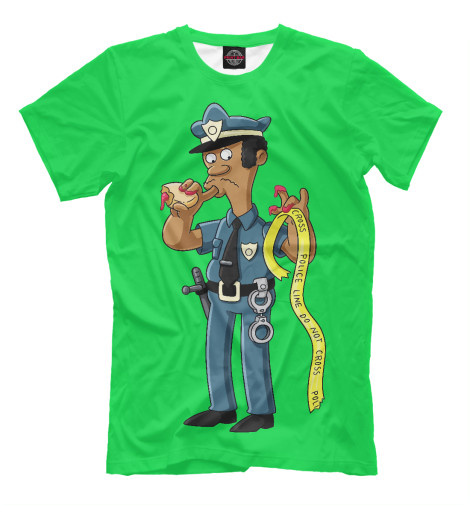 Футболка Print Bar Simpsons Police police pl 12921jsb 02m
