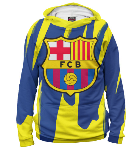 Женское худи Герб FC Barcelona