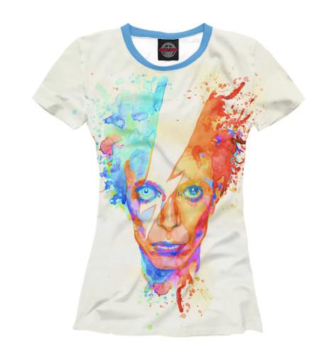 Футболка Print Bar David Bowie цена и фото
