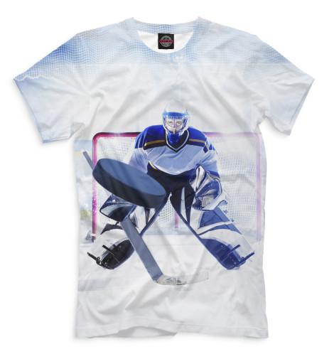 Мужская футболка Хоккей
