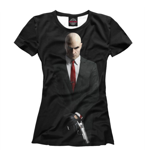 Футболка Print Bar Hitman видеоигра для ps4 hitman definitive edition