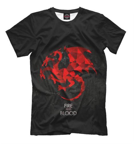 Футболка Print Bar Fire & Blood футболка print bar shogun assassin