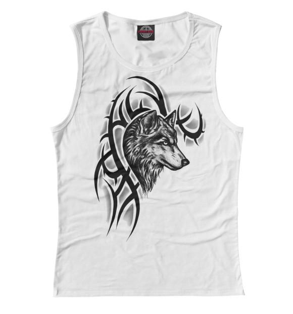 Купить Женская майка Волк VLF-876292-may-1
