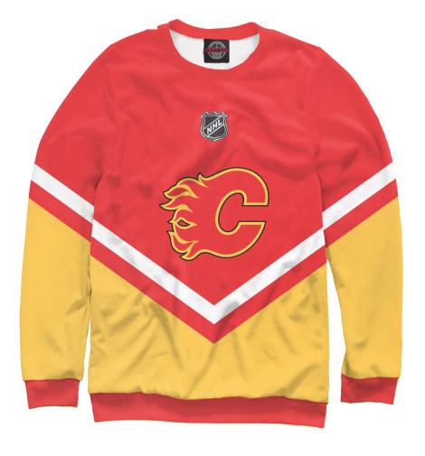Свитшот Print Bar Calgary Flames turbulent vortex flames