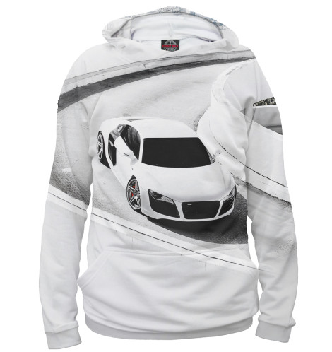 Женское худи Audi R8