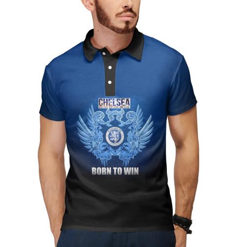 Поло Print Bar Chelsea - Born to win майка борцовка print bar chelsea born to win
