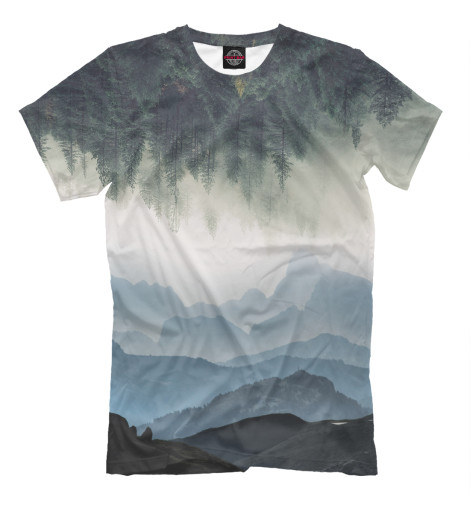 Фото - Мужская футболка Аir от Print Bar белого цвета