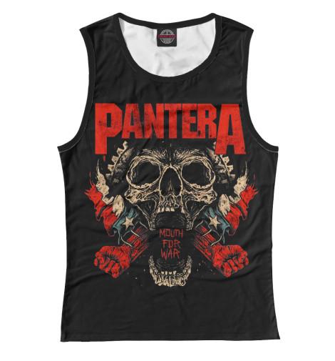 Купить Женская майка Pantera Mouth For War PNT-789270-may-1
