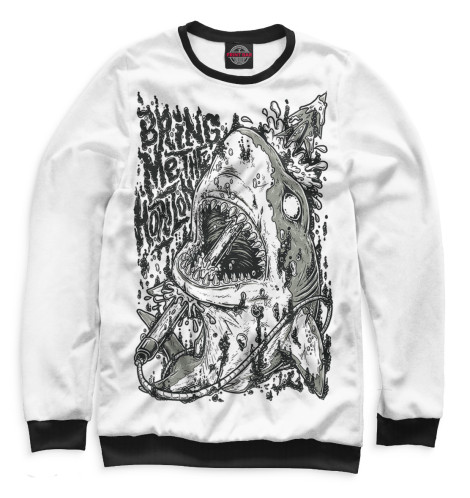 Мужской свитшот Bring Me The Horizon Print Bar BRI-989140-swi