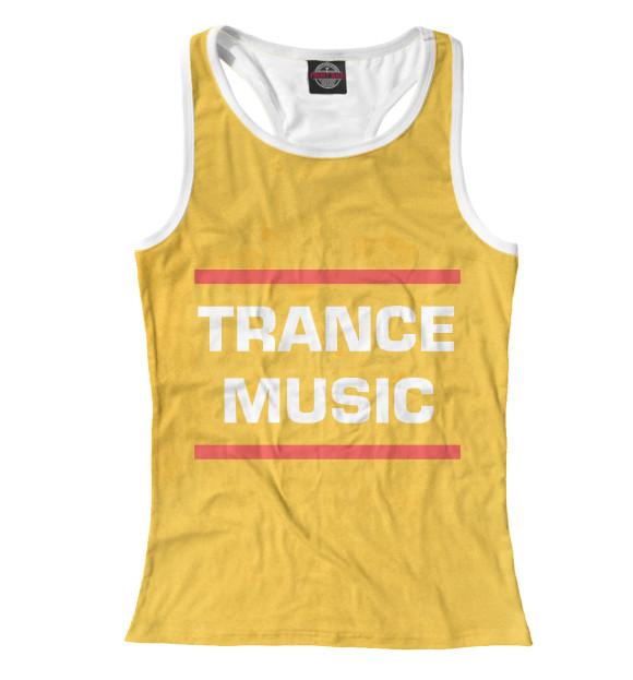 Купить Женская майка-борцовка Trance music DJS-614478-mayb-1