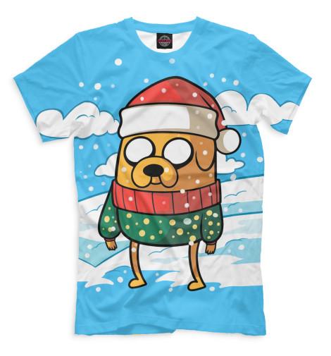 Мужская футболка Новый Год